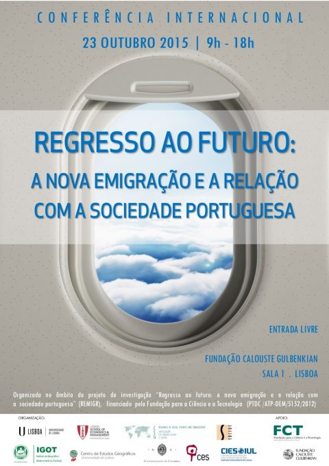 International Conference / October 23 Return to the future: the new emigration and its relation with Portuguese society