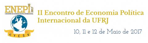10-12 MAI 2017 | ENEPI: II Encontro de Economia Política Internacional – Chamada para participação