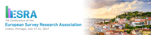 17-21 JUL 2017 | ESRA: 7th Conference of the European Survey Research Association