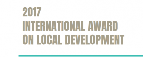 2017 | 4th edition of the International Prize for Local Development – Call for participation