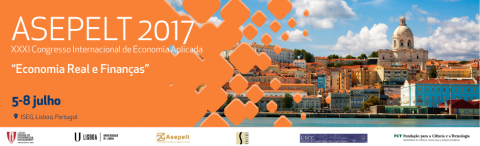 5-8 JUL 2017 | ASEPELT: XXXI Congresso Internacional de Economia Aplicada