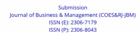 COES&RJ-JBM:  Journal of Business & Management – Chamada para participação