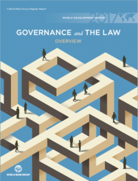New: World Development Report 2017 – Governance and Law