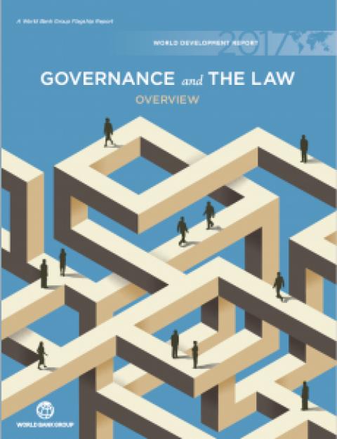 """World Development Report 2017, sobre o tema """"Governança e Direito"""""""