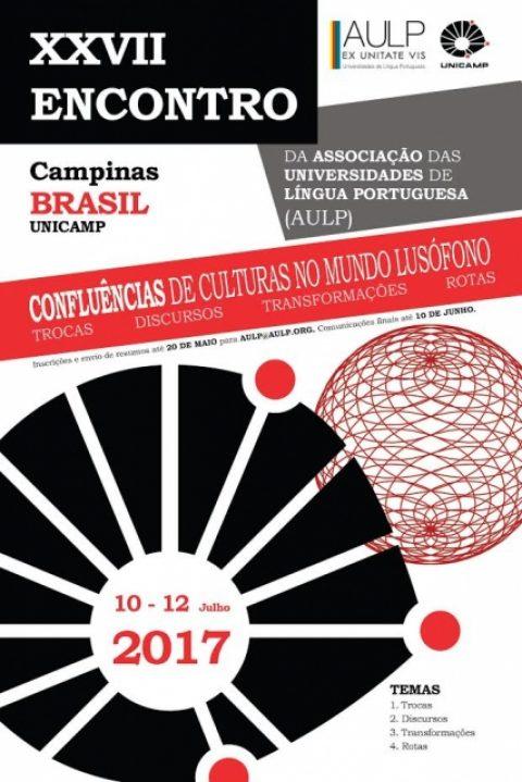 10-12 JUL 2017 | XXVII Encontro da AULP, Campinas, Brasil – Chamada para participação