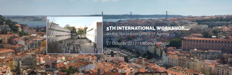"27 OUT 2017 | IWSEA: 5º Workshop Internacional sobre ""Socio-Economics of Ageing"" – Chamada para participação"