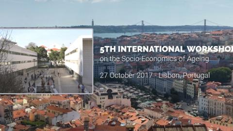 "27 OUT 2017   IWSEA: 5º Workshop Internacional sobre ""Socio-Economics of Ageing"" – Inscrições abertas"