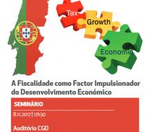 "8 NOV 2017 | Seminar ""Taxation as a Factor to Boost Economic Development"""