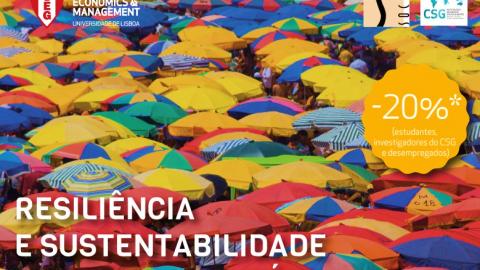 Curso de Formação SOCIUS/ISEG | Resiliência e Sustentabilidade de Destinos Turísticos
