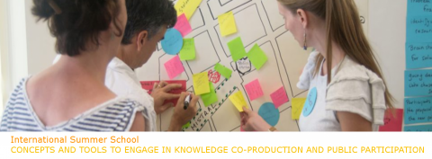 "9-13 JUL 2018 | Escola de Verão Internacional ""Concepts and Tools to Engage in Knowledge Co-Production and Public Participation"""