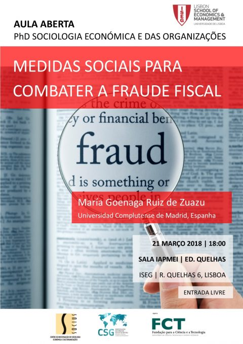 21 MAR 2018 | Open Class on Social Measures for Fighting Fraud