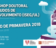 "4-5 MAY 2018 | PhD Workshop in Development Studies ""Spring Session 2018"""