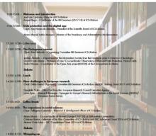 16 MAI 2018 | Seminários RRI: Responsible Research & Innovation: The General Data Protection Regulation and its Impact on Social Sciences, ICS – Universidade de Lisboa