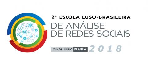 9-14 JUL 2018 | Abertas as Inscrições para a 2a Escola Luso-Brasileira de Análise de Redes Sociais