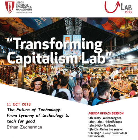 11 OUT 2018 | Transforming Capitalism Lab | The future of technology: from tyranny of technology to tech for good