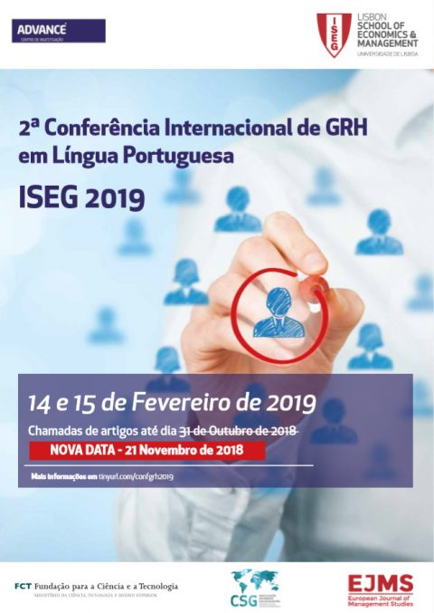 14-15 FEB 2019 | International Conference on HRM in Portuguese Language – Call for papers (new date)