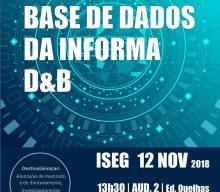 12 NOV 2018, 1:30 p.m. | Presentation session of the Database Informa D&B