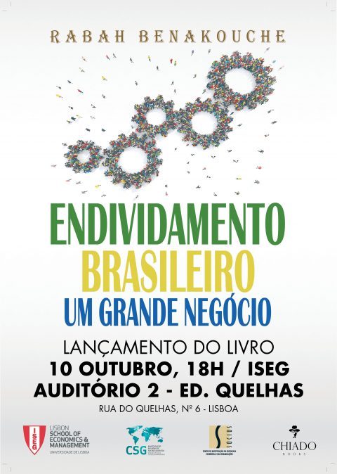 "10 OCT, 6pm | Launch of the book ""Brazilian Debt – A Big Deal"" by Rabah Benakouche"