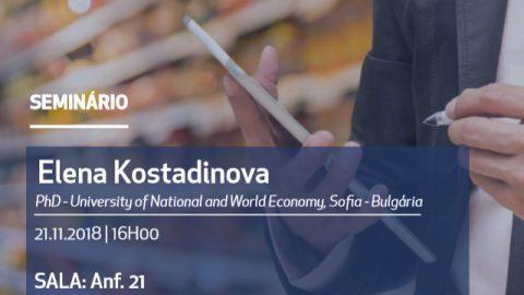 "21 NOV 2018, 16h | Seminário ""Price Promotions and Customer Behavior"