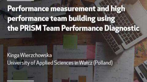 15 NOV 2018, 5 p.m | Seminar: Performance Measurement and High Performance Team Building Using the PRISM Team Performance Diagnostic