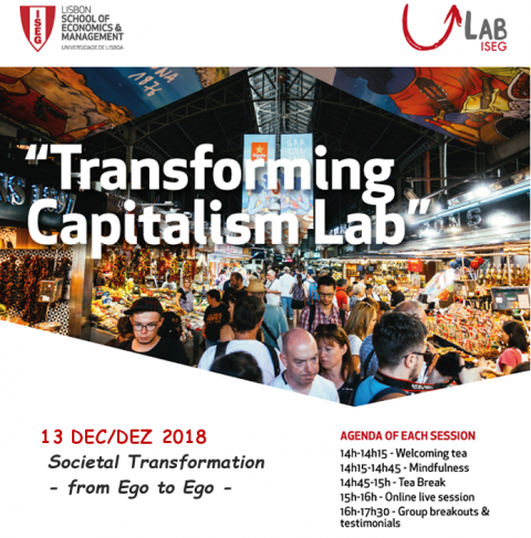 13 DEZ 2018 | Transforming Capitalism Lab | Societal Transformation – From Ego to Ego