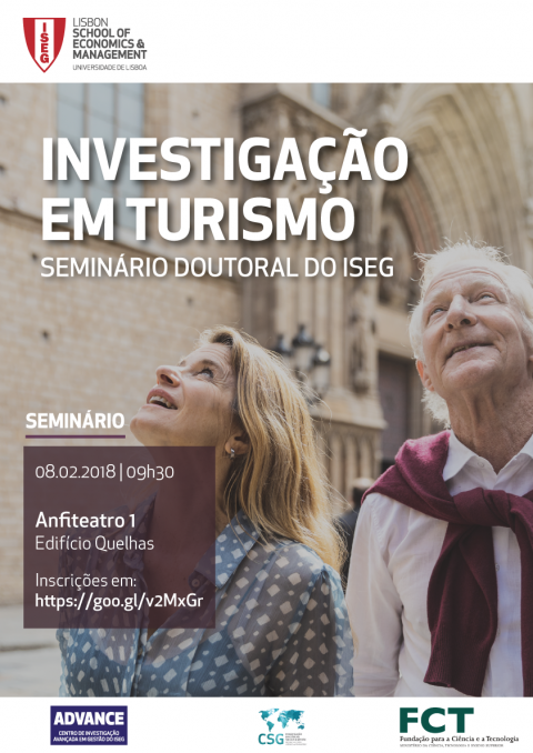 8 FEV 2019 | Seminário Doutoral em Turismo