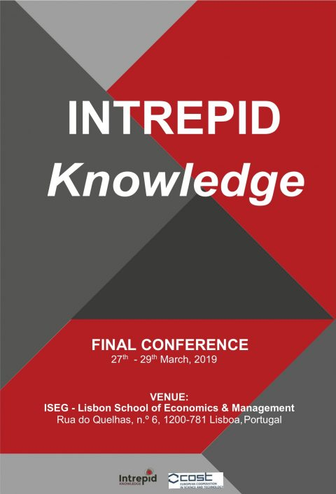 27-29 MAR 2019 | Conferência Final INTREPID Knowledge