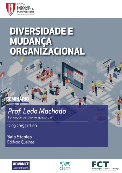 "12 MAR 2019 | Seminar ""Diversity and Organizational Change"""