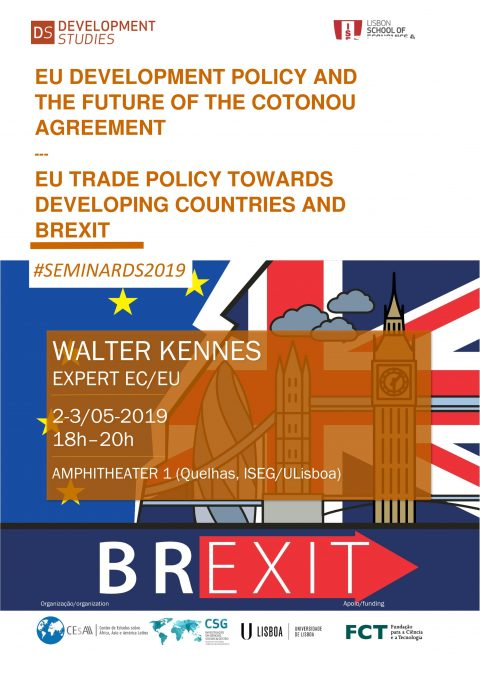 "2-3 MAY 2019, 6 p.m | ""EU Development Policy and the Future of the Cotonou Agreement"" & ""Eu Trade Policy Towards Developing Countries and Brexit"", by Walter Kennes"