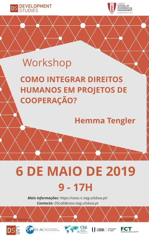 "6 MAY 2019 | Workshop DS Lab ""How to integrate Human Rights into Cooperation projects?"", by Hemma Tengler"