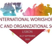 1st International Workshop on Economic and Organization Sociology – Open registration