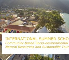 "Escola de Verão Internacional ""Community-based Socio-environmental Planning: Natural Resources and Sustainable Tourism"" – Adiada"