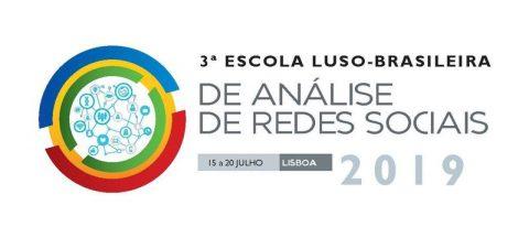 15-20 JUL 2019 | 3ª Escola Luso-Brasileira de Análise de Redes Sociais – Inscrições abertas