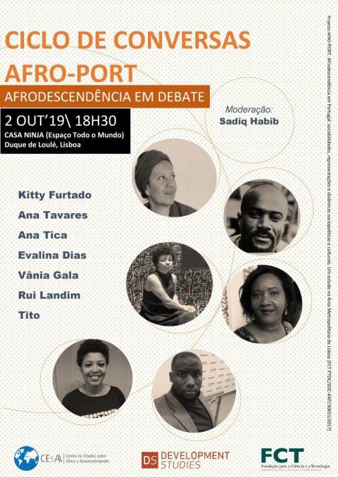 Ciclo de Conversas AFROPORT – Afrodescendência em debate