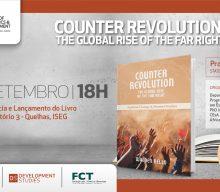 "Conferência e lançamento do livro ""Counter Revolution: The Global Rise of the Far Right"", de Walden Bello"