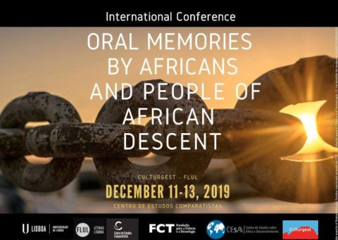 International Conference: Oral Memories by Africans and People of African Descent – Extended call for papers