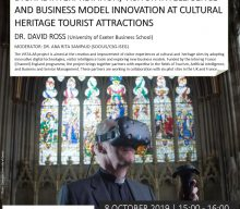"Aula Aberta ""Environmental Sustainability for Business (ESB): Digital Interpretation, Visitor Intelligence and Business Model Innovation at Heritage Tourist Attractions"""
