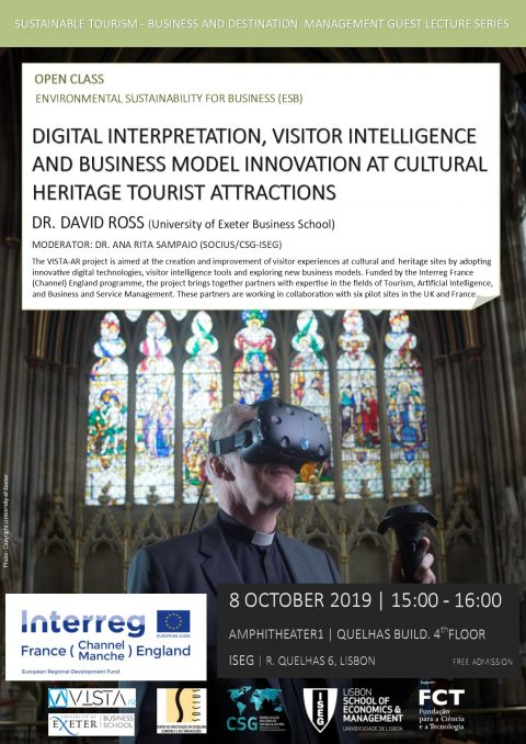 "Open Class ""Environmental Sustainability for Business (ESB): Digital Interpretation, Visitor Intelligence and Business Model Innovation at Heritage Tourist Attractions"""