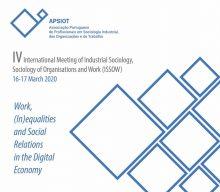IV International Meeting of Industrial Sociology, Sociology of Organisations and Work (ISSOW) – Postponed
