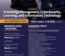 Knowledge Management Conference 2020 – Call for papers