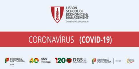 Coronavírus – Recomendações Direção Geral de Saúde