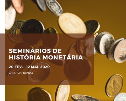 Ciclo de Seminários de História Monetária – Cancelado
