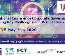 International Conference Corporate Governance: Examining Key Challenges and Perspectives (Online)