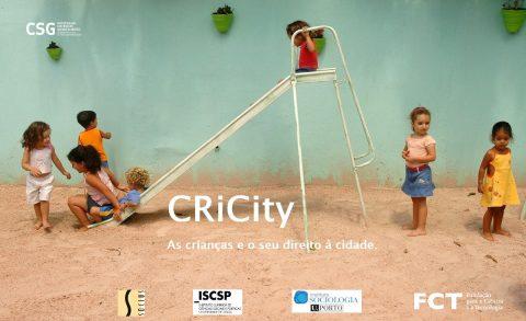 Estudo Projecto CRiCity  «Relatos do Confinamento e do Desconfinamento: A Perspetiva das Crianças»