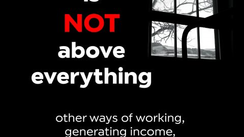 "Novo Livro ""When Money is NOT above everything: other ways of working, generating income, and living"", de Igor Valentim"