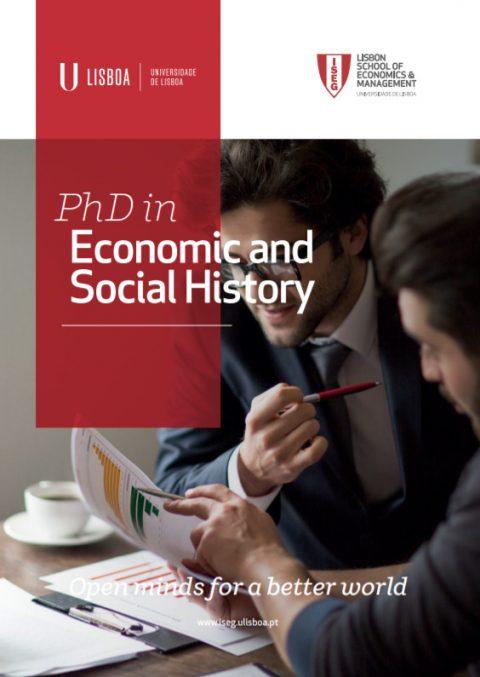 Abertas as candidaturas ao Doutoramento em História Económica e Social