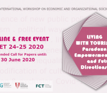 """Extended Call for Papers: Workshop""""Living with Tourism"""" (Online)"""