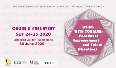 "Extended Call for Papers: Workshop ""Living with Tourism"" (Online)"