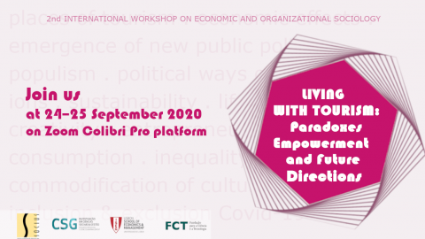 "OPEN REGISTRATION | Workshop ""Living with Tourism: Paradoxes, Empowerment and Future Directions"""