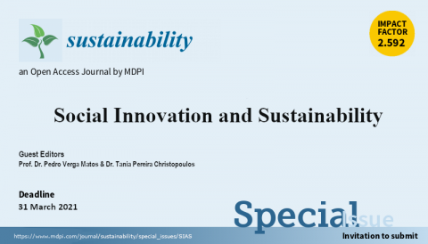 "Call for papers Special Issue: ""Social Innovation and Sustainability"""